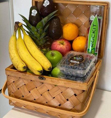 Basket $25/pc (Fruit not included)